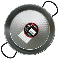 Valencian Paella Pan (Polished Steel) - Vaello