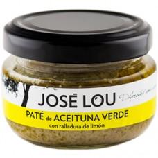 Green Olive Pâté with Lemon - Jose Lou