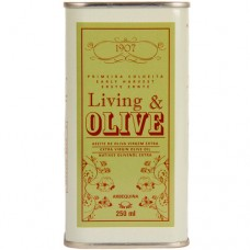 Extra Virgin Olive Oil 'Arbequina' - Living & Olive (Can 250 ml)