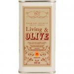 Extra Virgin Olive Oil 'Empeltre' - Living & Olive (Can - 250 ml)