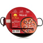 Paella Kit with Paella Pan (30 cm) - La Chinata