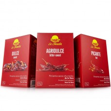Smoked Dried Peppers & Ñora Peppers '3-Pack' - La Chinata (3 x 25 g)