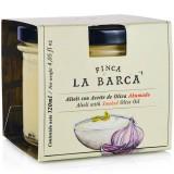 Alioli with Smoked Olive Oil - Finca La Barca (120 ml)