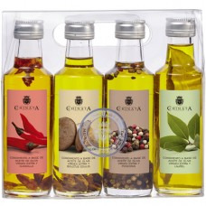 Extra Virgin Olive Oil '4-Flavour Pack' - La Chinata (4 x 100 ml)