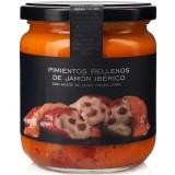 Piquillo Peppers Stuffed with Iberian Ham - La Chinata (300 g)