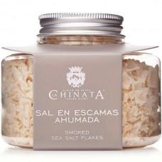 Smoked Sea Salt Flakes - La Chinata (120 g)