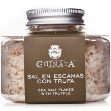 Sea Salt Flakes with Truffle - La Chinata (120 g)