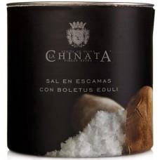 Sea Salt Crystals 'Porcini Mushroom' - La Chinata (165 g)