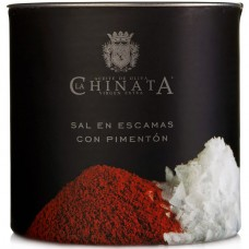 Sea Salt Crystals 'Smoked Paprika' - La Chinata (165 g)