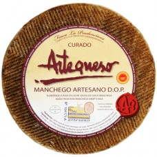Cured Sheep Cheese 'DO Manchego' - Artequeso