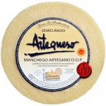 Semi-Cured Sheep Cheese 'DO Manchego' - Artequeso