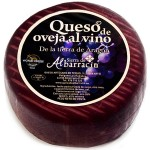 Sheep Cheese in Red Wine - Sierra de Albarracin