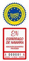 Asparagus from Navarra, Spain (PGI)